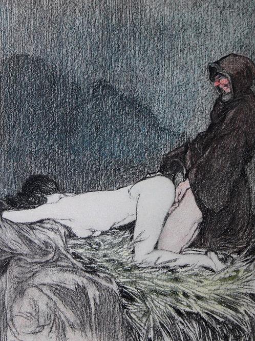 Dix Contes Choisis de La Fontaine (1931). 10 gravures en couleurs de Stall