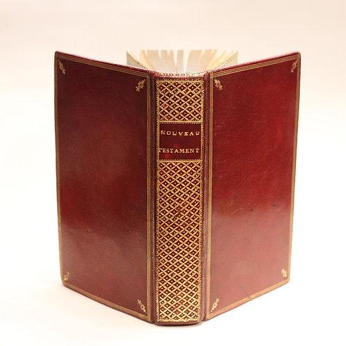 Jansénisme. Mésenguy. Nouveau Testament de Jésus-Christ (1764). Pasdeloup