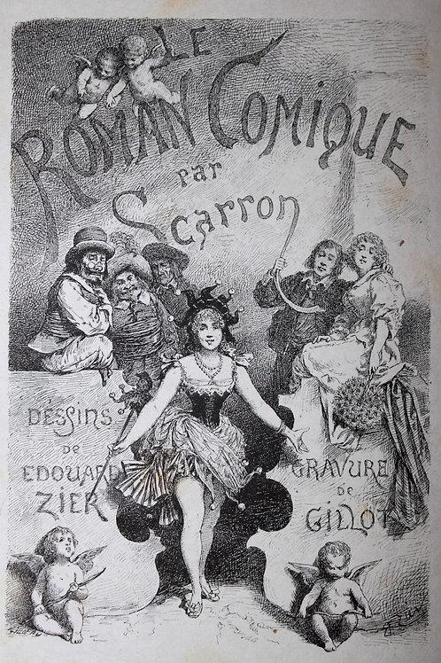 Le Roman Comique de Scarron illustré par Edouard Zier (1888)