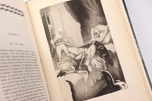 Rétif de La Bretonne. L'Anti-Justine illustrée par Le Loup (1929). Edition rare.