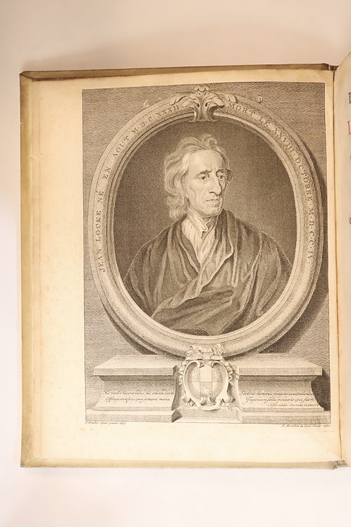 John Locke. Pierre Coste. Essai philosophique concernant l'entendement humain.