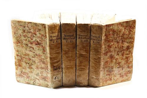 Rétif de la Bretonne. Le Nouvel Abeilard (1779). Exemplaire non rogné. Rare