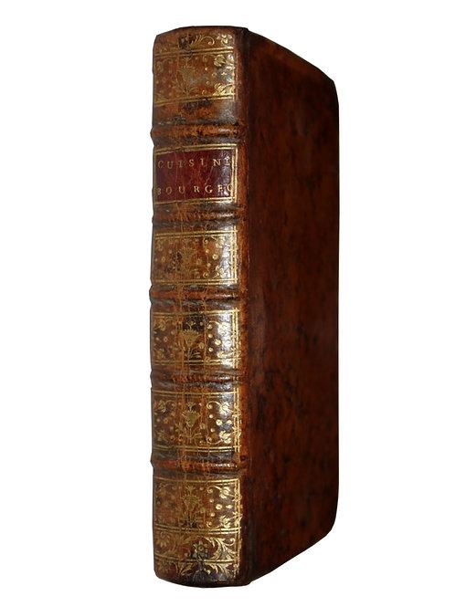 La Cuisinière Bourgeoise suivie de l'Office par Menon (1767). Bel exemplaire