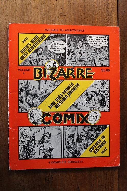 BDSM. Bizarre Comix Volume 4. 1976. Sado-Masochisme. BD Adultes