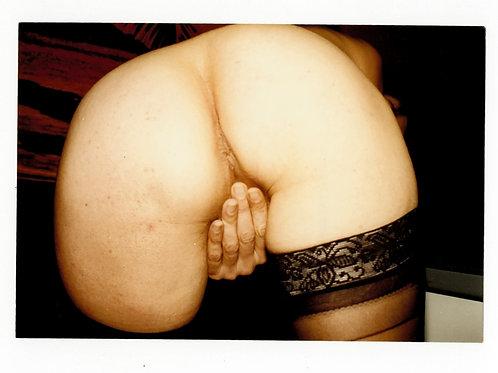 """Photographie Amateur Vintage X 1993 """"Ass 2"""". Ref XX8"""