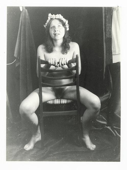 Photographie Amateur Vintage Nu féminin vers 1965. Ref. 955