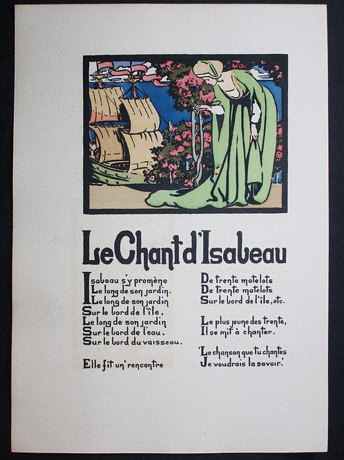 Chansons de l'Ancienne France, Québec (1905). Illustrations de Robertson
