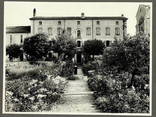 Photographie d'époque vers 1940 Orphelinat du Sacré-Coeur Le Poët-Laval Drôme 3