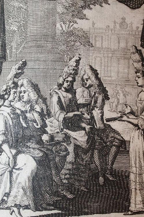 La France Galante ou Histoires amoureuses de la cour (1709)