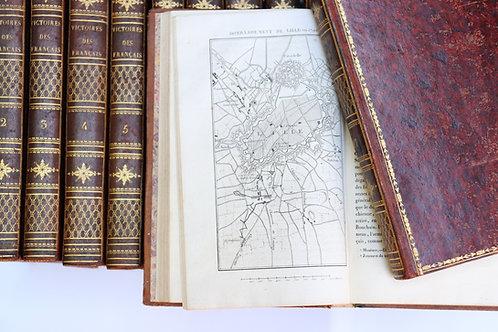 Napoléon Bonaparte / Révolution / Empire. Victoires, Conquêtes Désastres 27 vol.