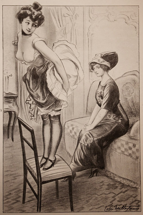Quinze ans (1927). Orties Blanches. Châtiments corporels BDSM