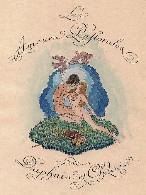 Les Amours patorales de Daphnis et Chloé par Longus. Illustrations de Jean Dulac