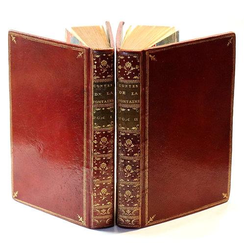 Jean de La Fontaine. Contes et Nouvelles en vers. 1764. Maroquin époque. Bel ex.