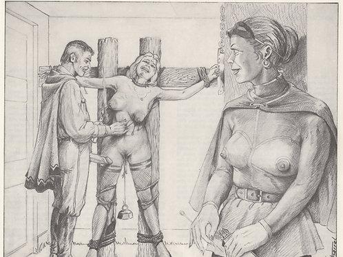 Joseph Farrel. BDSM. Bondage Domination Sado-Masochisme. Planche d'album 1978
