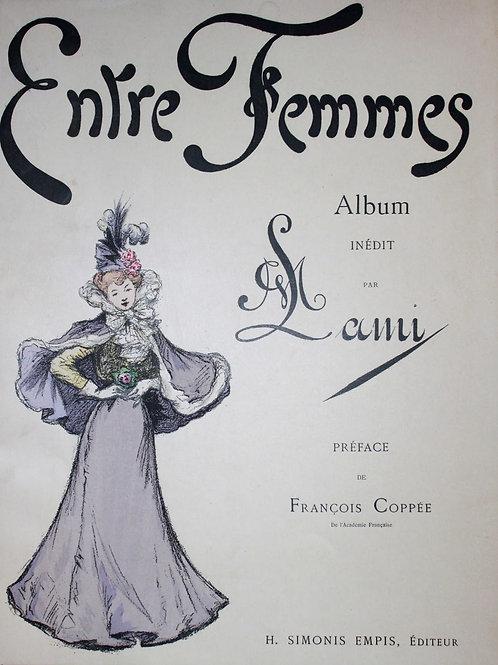 Entre Femmes. Album par Madame Lami (1898). 1 des 20 ex. sur Japon