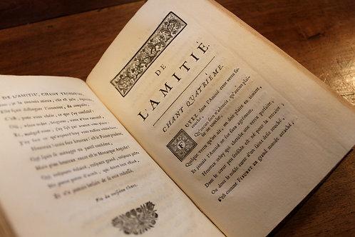Pierre de Villiers. De l'Amitié (1692). Edition originale publiée par Cl. Barbin