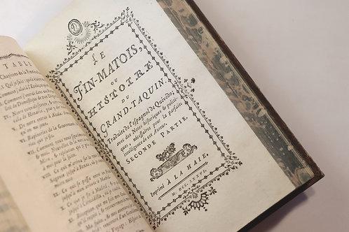 Rétif de la Bretonne [Restif de la Bretone]. Le Fin-Matois de Quévédo (1775). EO