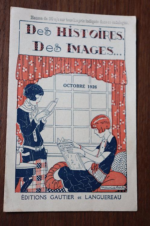 1926 publicité album bécassine bibliothèque Suzette album Nane Maurice Berty