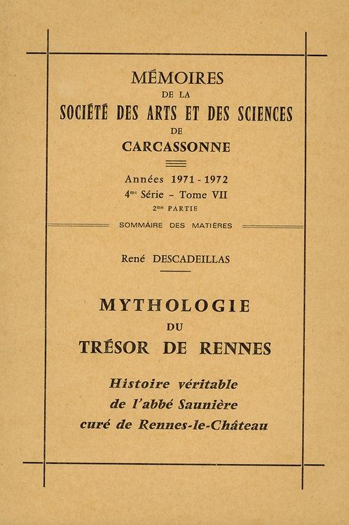 René Descadeillas. Mythologie du Trésor de Rennes (1974)