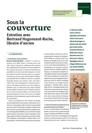 Sous la couverture, entretien avec Bertrand Hugonnard-Roche, libraire d'ancien.