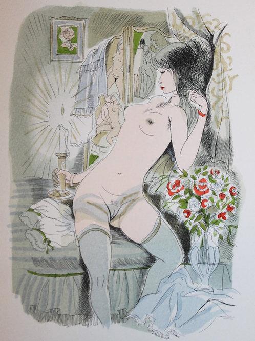 Un été à la campagne par Gustave Droz. Illustrations de Gaston Barret