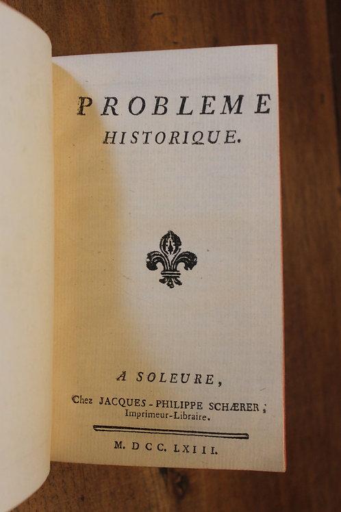 Interdiction des Jésuites en France. Recueil de pièces (1763-1764).