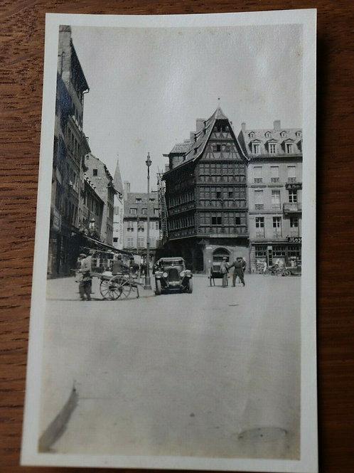 Photo ancienne 1930 Strasbourg