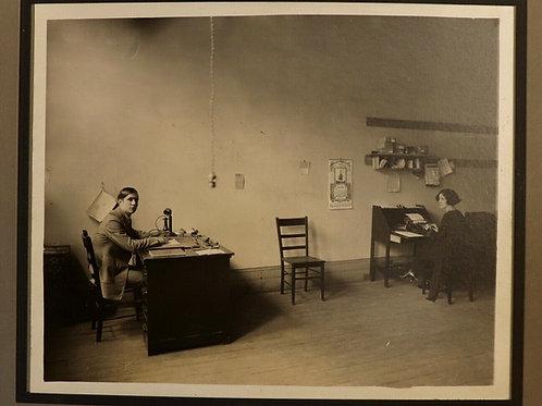 1923 PHOTOGRAPHIES 24 x 19 CM Québec Montréal Canada Rare bureaux ministère ?