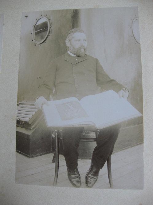 11 Photographies 1888 équipage bateau voyage Carthagène St Domingue