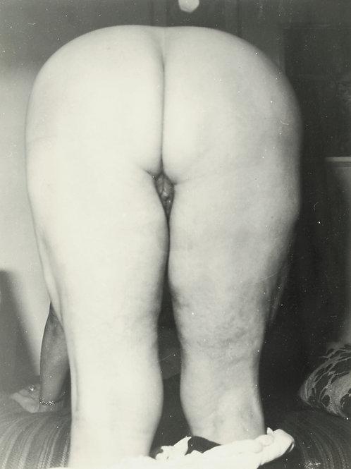 Photographie Amateur Vintage Nu féminin vers 1965. Ref. 978