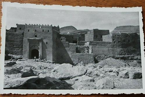 Photo ancienne vers 1930 Maroc Afrique Vallée du Ziz