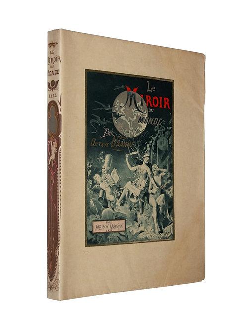 Le Miroir du Monde d'Octave Uzanne (1888). Exemplaire sur Japon