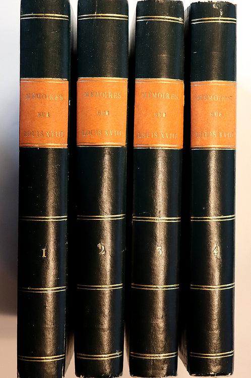 Lamothe-Langon. Mémoires d'une femme de qualité, sur Louis XVIII, sa cour etc