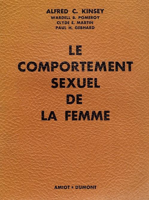 Le Comportement Sexuel de la Femme (1954). Rapport Kinsey