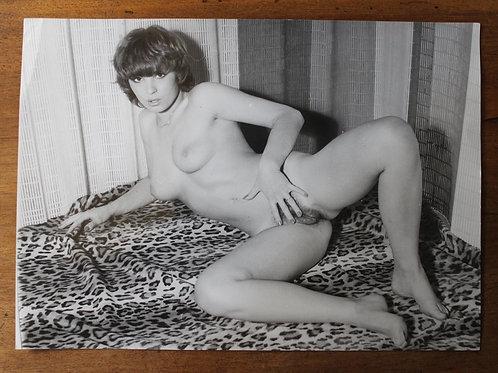 Grand Format. Tirage argentique d'époque (29 x 21 cm) vers 1975 par A. Belorgey