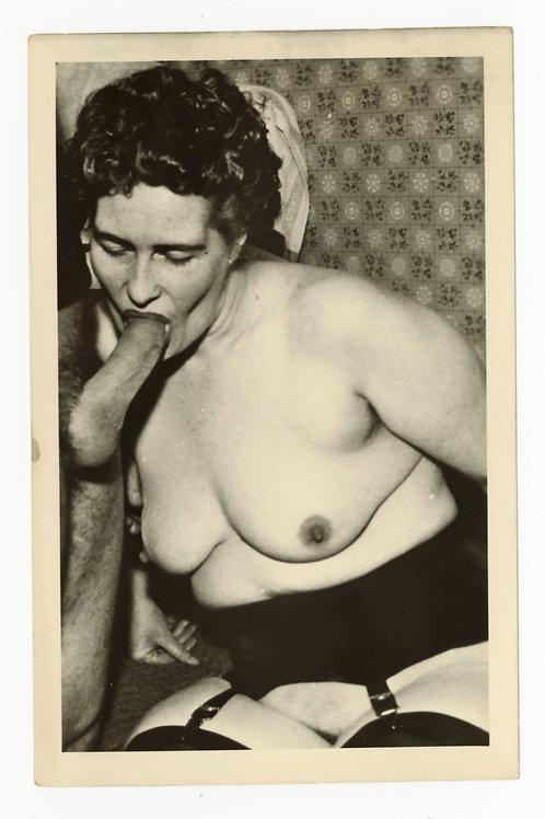 Photographie argentique originale X amateur (vers 1950-1960). 14 x 9 cm. Ref Y20
