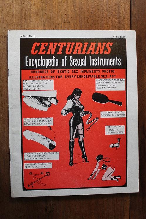 Centurians. Encyclopedia of Sexual Instruments. 1970. Vol. 1. No 1. BDSM