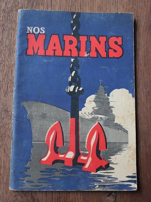 1943 Nos Marins Spécialités de la Marine Armée Illustrations humour Bayle