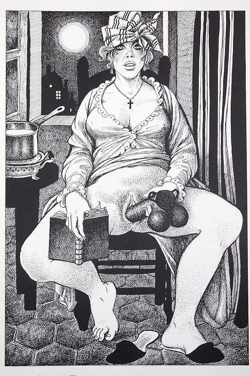 Mémoires d'une Chanteuse Allemande (1978) illustré par Georges Pichard
