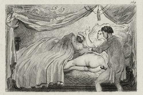 Estampe érotique (gravure sur cuivre) vers 1870-1880 ? N°3