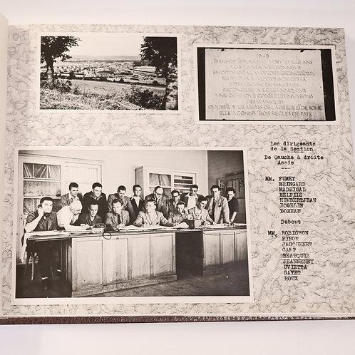 SNCF. Album de 25 planches photos (130 photos). Les Laumes - Alésia. Rare