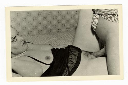 Photographie argentique originale X amateur (vers 1950-1960). 14 x 9 cm. Ref Y17