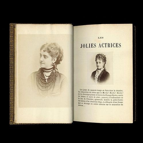 Mahalin. Les jolies actrices de Paris (1868). Exemplaire unique 51 photographies