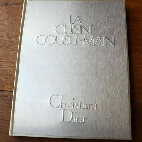 1972 La cuisine cousu-Main Dior gastronomie illustré Gruau mode Recette