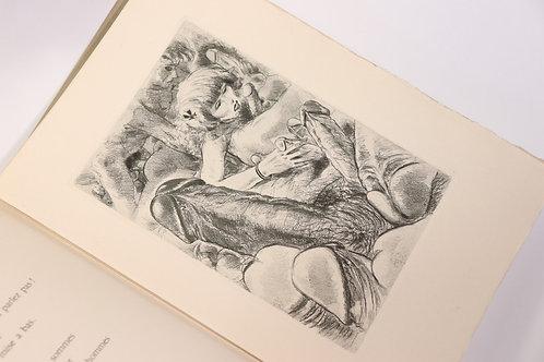 Pierre Louÿs. Cydalise. 1949. Illustrations libres par Jean Traynier. Rare.