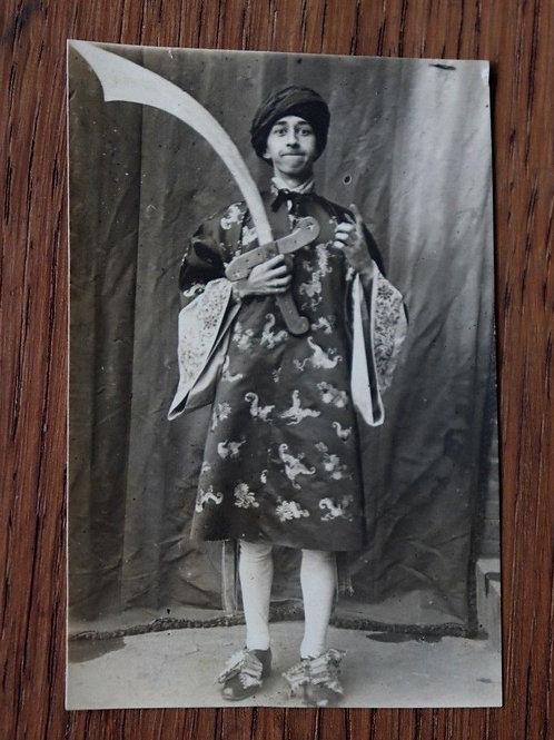 Photo 1922 Théâtre costume Bourgeois gentilhomme Molière snapshot