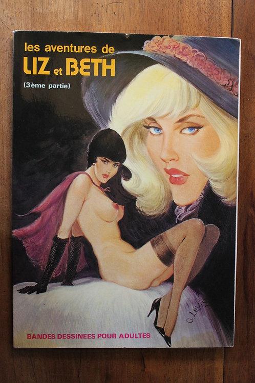 Bande dessinée adultes BDSM. Les Aventures de Liz et Beth (1980)