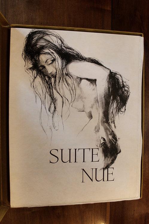 Pierre Letellier. Suite Nue (1966). 35 lithographies originales. 1/25 ex. rare