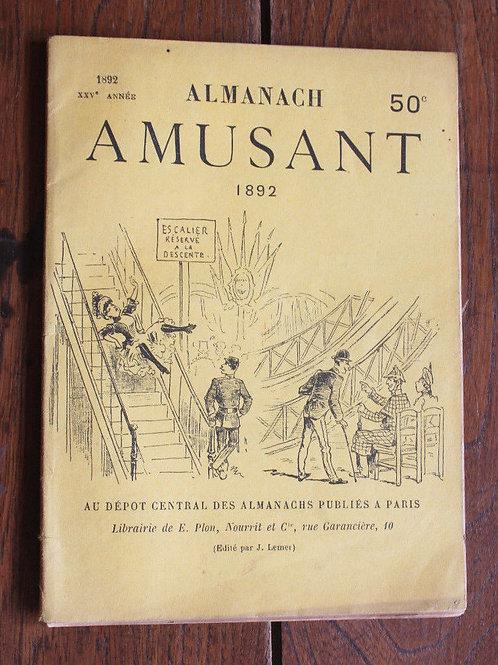Almanach amusant 1892