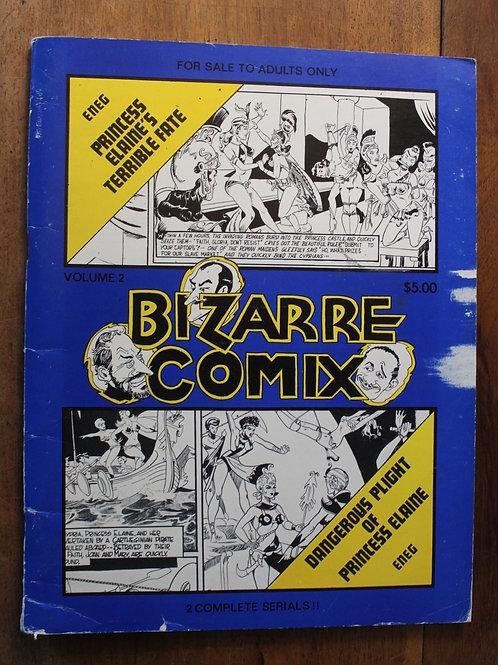BDSM BD adultes. BIZARRE COMIX (1975) Vol. 2. Dessins de ENEG.